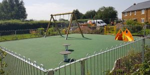 Childrens Playpark by PGE Landscaping