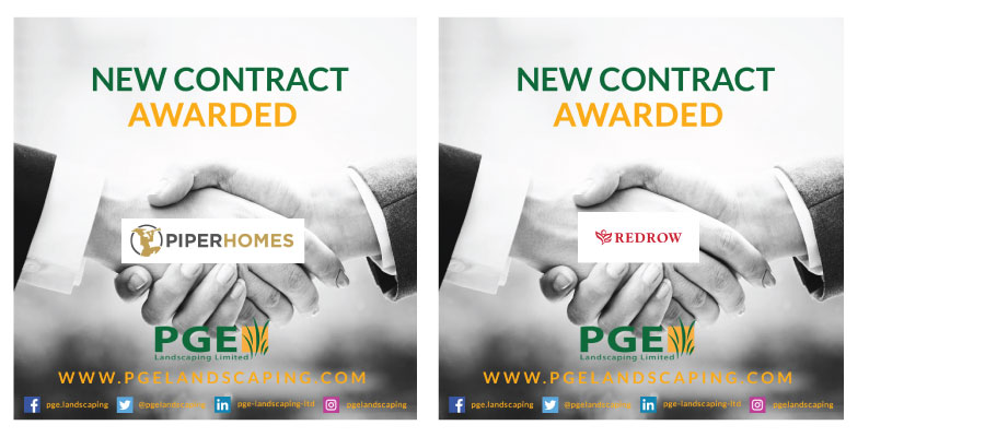 PGE Landscaping new contract awards